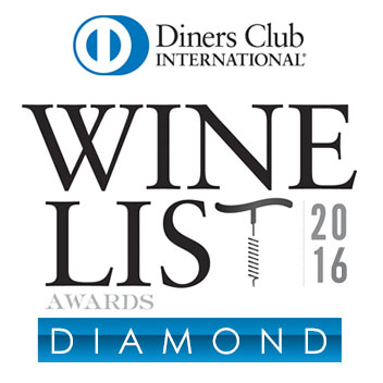 Diners Club International – Wine List Award
